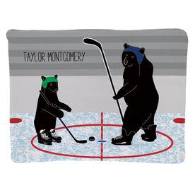 Hockey Baby Blanket - Bears