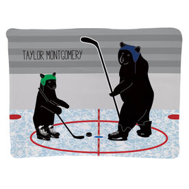 Hockey Baby Blanket - Bears