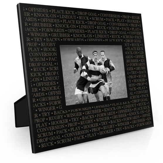 Rugby Engraved Picture Frame - Rugby Terminology