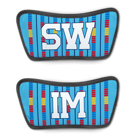 Swimming Repwell® Sandal Straps - Swim Lanes with Text