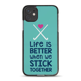Field Hockey iPhone® Case - Stick Together