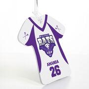 Girls Lacrosse Jersey Bag/Luggage Tag - Custom Team Logo