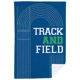 Track & Field Premium Blanket - Track and Field Lanes