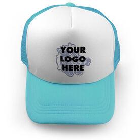 Football Trucker Hat Custom Team Logo