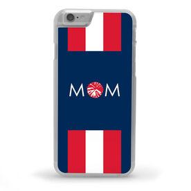 Cheerleading iPhone® Case - Cheer Mom Stripe