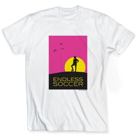 Soccer Tshirt Short Sleeve Endless Soccer Girl