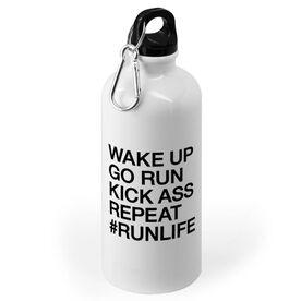 Running 20 oz. Stainless Steel Water Bottle - Wake Up Go Run #runlife