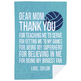 Volleyball Premium Blanket - Dear Mom