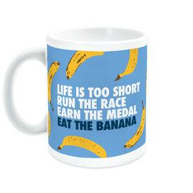 Running Coffee Mug - Eat The Banana