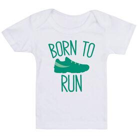 Running Baby T-Shirt - Born To Run