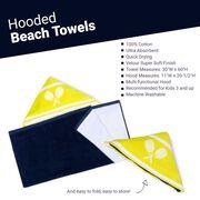 Tennis Hooded Towel - Eat Sleep Tennis