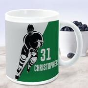 Hockey Coffee Mug Personalized Player Silhouette