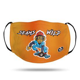 Seams Wild Baseball Face Mask - Nanaz