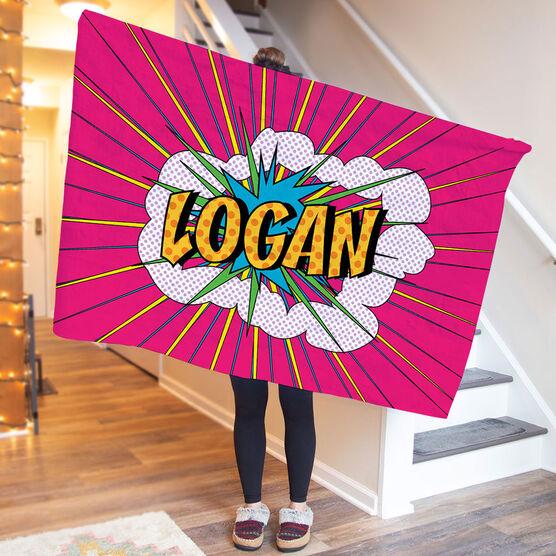 Personalized Premium Blanket - Pow