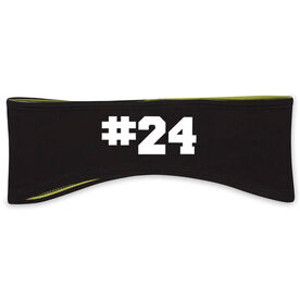 Personalized Reversible Performance Headband Custom Team Number