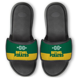 Cross Country Repwell™ Slide Sandals - Team Name Colorblock