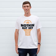 Basketball Tshirt Short Sleeve Nothin But Net
