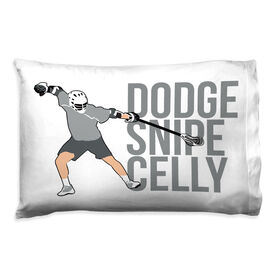 Guys Lacrosse Pillowcase - Dodge Snipe Celly