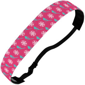 Skiing Juliband No-Slip Headband - Ski Pattern