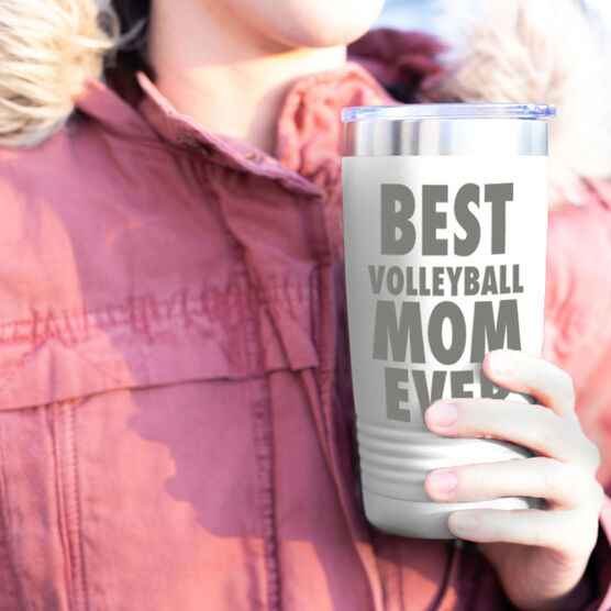 Volleyball 20 oz. Double Insulated Tumbler - Best Mom Ever