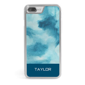 Personalized iPhone® Case - Watercolor Texture