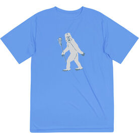 Guys Lacrosse Short Sleeve Performance Tee - Yeti