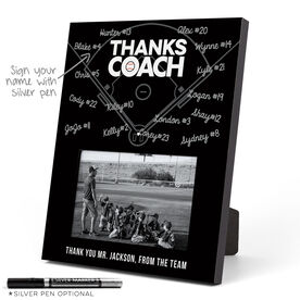Baseball Photo Frame - Coach (Autograph)