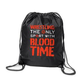 Wrestling Sport Pack Cinch Sack - Blood Time