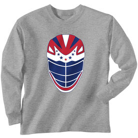 Guys Lacrosse Long Sleeve T-Shirt - All Star Lid