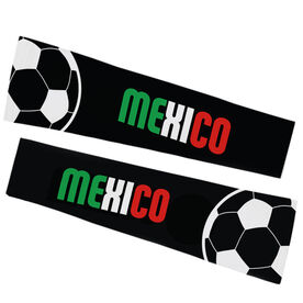 Soccer Printed Arm Sleeves - Soccer Mexico