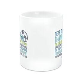 Soccer Coffee Mug Dear Dad