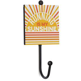 Running Medal Hook - Running Is My Sunshine