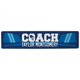 """Crew Aluminum Room Sign - Coach Crew (4""""x18"""")"""