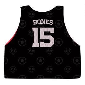 Soccer Pinnie - Halloween Skeleton
