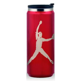 Stainless Steel Travel Mug Softball Pitcher