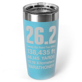 Running 20 oz. Double Insulated Tumbler - 26.2 Math Miles