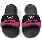 Softball Repwell® Slide Sandals - Team Name Colorblock