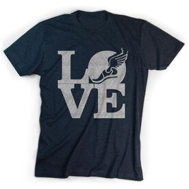 Track & Field Youth T-Shirt ShortSleeve Winged Foot Love