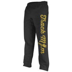 Track and Field Fleece Sweatpants Track Mom