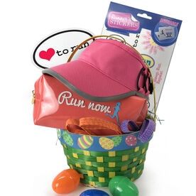 Run & Train Now...Wine Later Easter Basket