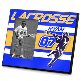 Lacrosse Personalized Photo Frame Lacrosse