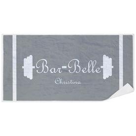 Cross Training Premium Beach Towel - Bar Belle