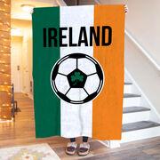 Soccer Premium Blanket - Ireland Soccer