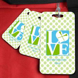 Lacrosse Bag/Luggage Tag Love Lax