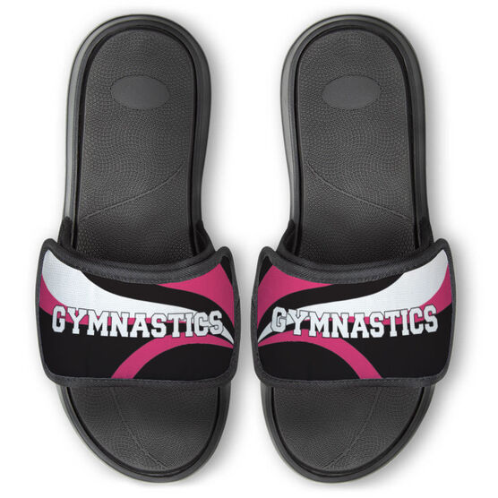 Gymnastics Repwell® Slide Sandals - Gymnastics With Waves