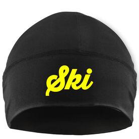 Skiing Beanie Performance Hat - Ski Script