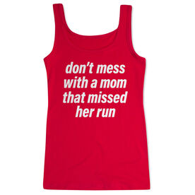 Running Women's Athletic Tank Top - Don't Mess With A Mom