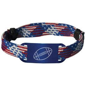 Football Lace Bracelet Ball Adjustable Sport Lace Bracelet
