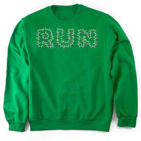 Running Crew Neck Sweatshirt Run Lights