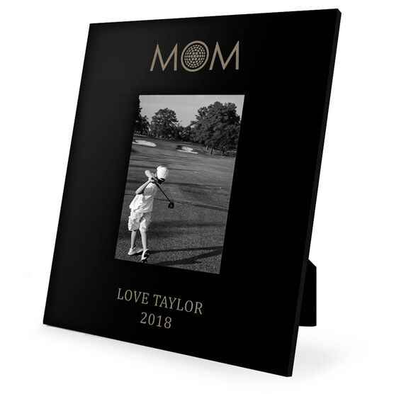 Golf Engraved Picture Frame - Golf Mom